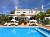 Luxury villa in spectacular location with tennis court, games room and large pool